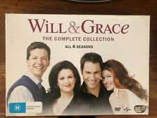 Will and Grace Complete Box Set - Region: Australia - Excellent Condition