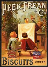 C. 2000 Postcard of a Victorian advertisement for 'Peek, Frean & Co'. Biscuits