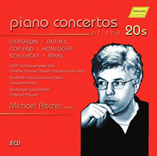 MICHAEL RISCHE-PIANO CONCERTOS OF THE 20S  CD NEW