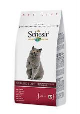 SCHESIR CAT Sterilizzati Light al Pollo Kg.10 Gatti castrati Croccantini Adulti