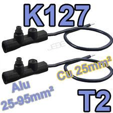 MICHAUD K127 T2 lot de 2 embouts réducteur de section 25-95 vers 25mm²