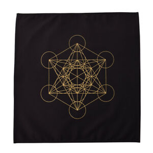 Altar Tarot Table Cloth Divination Cards Square Wicca Cloth Geometric Pattern