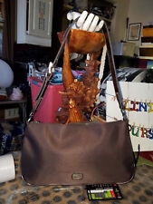 XOXO - Brown Nylon Shoulder Bag - nice WIDE strap #2