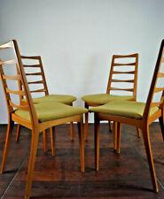 60er Vintage Stühle Danish Retro Esszimmer Stuhl Buche Sessel Mid-Century 1/2