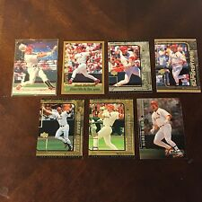 ~7 Baseball Trading Card Lot Set MARK MCGWIRE Indians, WoW LOOK!~