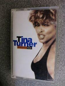 Tina Turner - Simply The Best - Cassette Tape Album  - Istanbul Turkish Import