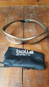 BOLLE SPIPSI  SPIDER CYCLING SAFETY GLASSES RIDING SPORTS EN166 PPE CLEAR