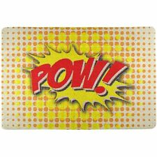 Comic Book Heroes Kitchen Placemats and Coasters
