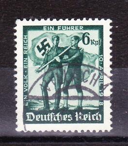 Germany Deutsches Reich 1938 Mi. Nr. 663 Austrian Plebiscite (Vienna Print) USED