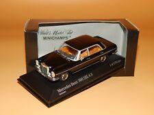 Mercedes-Benz 300 SEL 6.3 (W108) Schwarz 430039101  PMA/Minichamps 1/43 OVP
