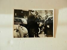 Original Press Photo. President Albert Francois LeBrun.1937 Paris Motor Show.
