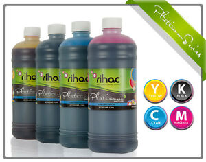 4 x 1 litre RIHAC Refill ink for CISS suits canon PGI-650 & CLI-651 Cartridge