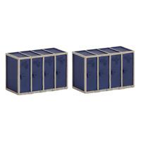 Graham Farish 42-547 N Gauge Cycle Cabinets