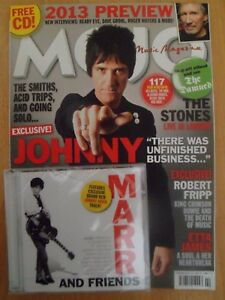 """Mojo Music Magazine Issue 231 """"Includes Sealed CD Attached"""" - February 2013"""