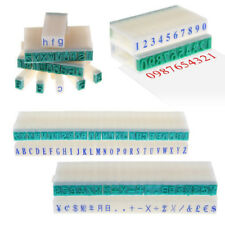 English Alphabet Letters Numbers Rubber Stamp Free Combination Diy 3 Style Craft