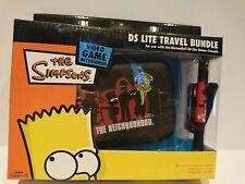 THE SIMPSONS * DS LIte Travel Bundle * Bart Simpson * New * Case & Stylus Holder