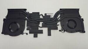 Dell Alienware M15 R2 Cooling Fan & Heatsink X9FRW 0X9FRW