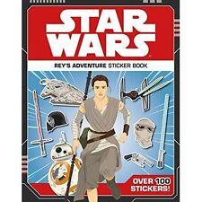 Star Wars Rey's Adventure Sticker Book  by Lucasfilm New Paperback  FREE P&P