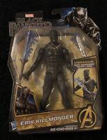"Marvel Black Panther 6"" -inch Action Figure  Erik Killmonger Vibranium Gear"