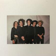Rare Original 1989 The Cure 'Disintegration' Tour Unused Colour Photo Postcard