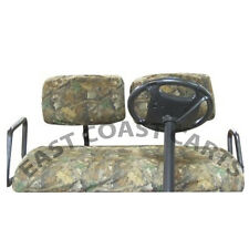 Club Car DS 1982-99 Golf Cart Camo Seat Cover, Slip-on Camouflage Seat Cover Set