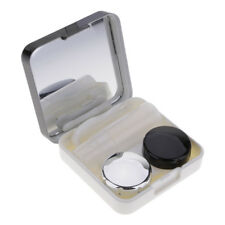 Practical Contact Lens Travel Kit Easy Carrying Mirror Lenses Case Storage Box