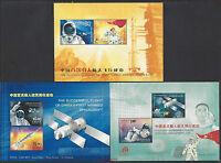 CHINA + Hong Kong + Macau 2003 Successful Flight China Space Craft stamps S/S