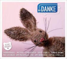 KLEINE FREUNDE: DANKE  - GIESINGER,MAX/GARRET,DAVID/DEL REY,LANA/PUR  CD NEUF