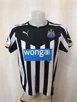 Newcastle United 2014/2015 home Size S Puma football shirt jersey maillot soccer