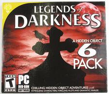 Legends of Darkness A Hidden Object 6 Pack (Deathman/Virus Island and MORE)
