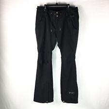 Ride Cappel Snowboards Pants Womens Size Medium Black Zip Leg Snow Ski Outerwear