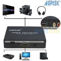 AGPtek 1080P HDMI to HDMI + Optical SPDIF + RCA L/R Audio Extractor Converter