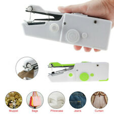 Portable Handheld Cordless Mini Sewing Machine Hand Held Stitch Clothes Gift