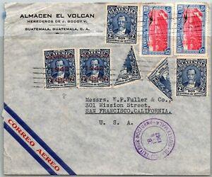 GP GOLDPATH: GUATEMALA COVER 1942 AIR MAIL _CV748_P05