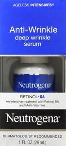 Neutrogena Anti-Wrinkle Deep Wrinkle Serum With Retinol SA | 1 oz | 10 Pack