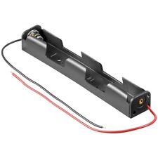 Batteriehalter für 2x Mignon-Zelle AA mit Kabel-Anschluß
