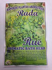 SPIRITUAL AROMATIC PLANT BATH (PLANTOS AROMATICOS) RUE (RUDA) 3/4 OZ