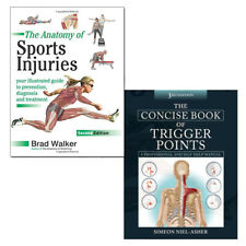 Concise Book of Trigger Points and Anatomy of Sports Injuries 2 Books Collection