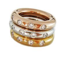 Markenlose Modeschmuck-Ringe im Dreierring-Stil für Damen