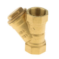 DN20 Brass Filter Valve Y Type Strainer Valve Water Plumbing Pipe Valve 3/4