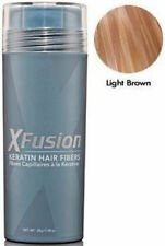 X-Fusion Keratin Hair Fibers 28 Gram Light Brown