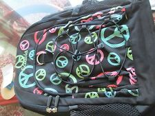 """Pottery Barn Teen Gear Up  Peace Backpack monogrammed """" Octavia""""  New with tags"""