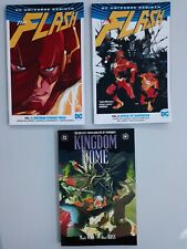 Dc Graphic Novels Comic Books Dc Aqua Man The Flash Kingdom Come Cyborg 26books