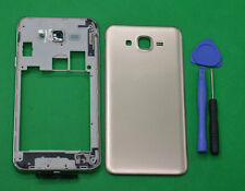 For Samsung Galaxy J7 SM-J700 Gold Housing Middle Frame Battery Cover