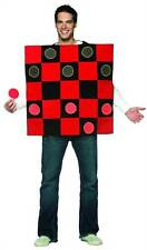 CHECKERS BOARD checkerboard couples game adult mens womens halloween costume