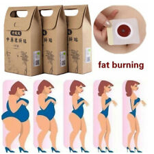 Care Chinese Medicine Weight Loss Fat Burning Slimming Patches Navel Sticker