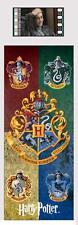 HARRY POTTER Hogwart Gryffindor Slytherin Hufflepuff Ravenclaw FILMCELL BOOKMARK