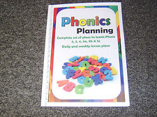 phonics planning book phase 2 3 4 5a 5b 5c complete planning for all phases