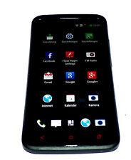 HTC OneX 16GB Schwarz ohne Simlock 4,7 Zoll 8MP LTE Gut! #239