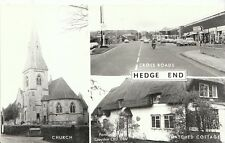 Hampshire Postcard - Views of Hedge End - Southampton   V1507